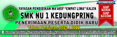 BANNER PPDB 2020/2021